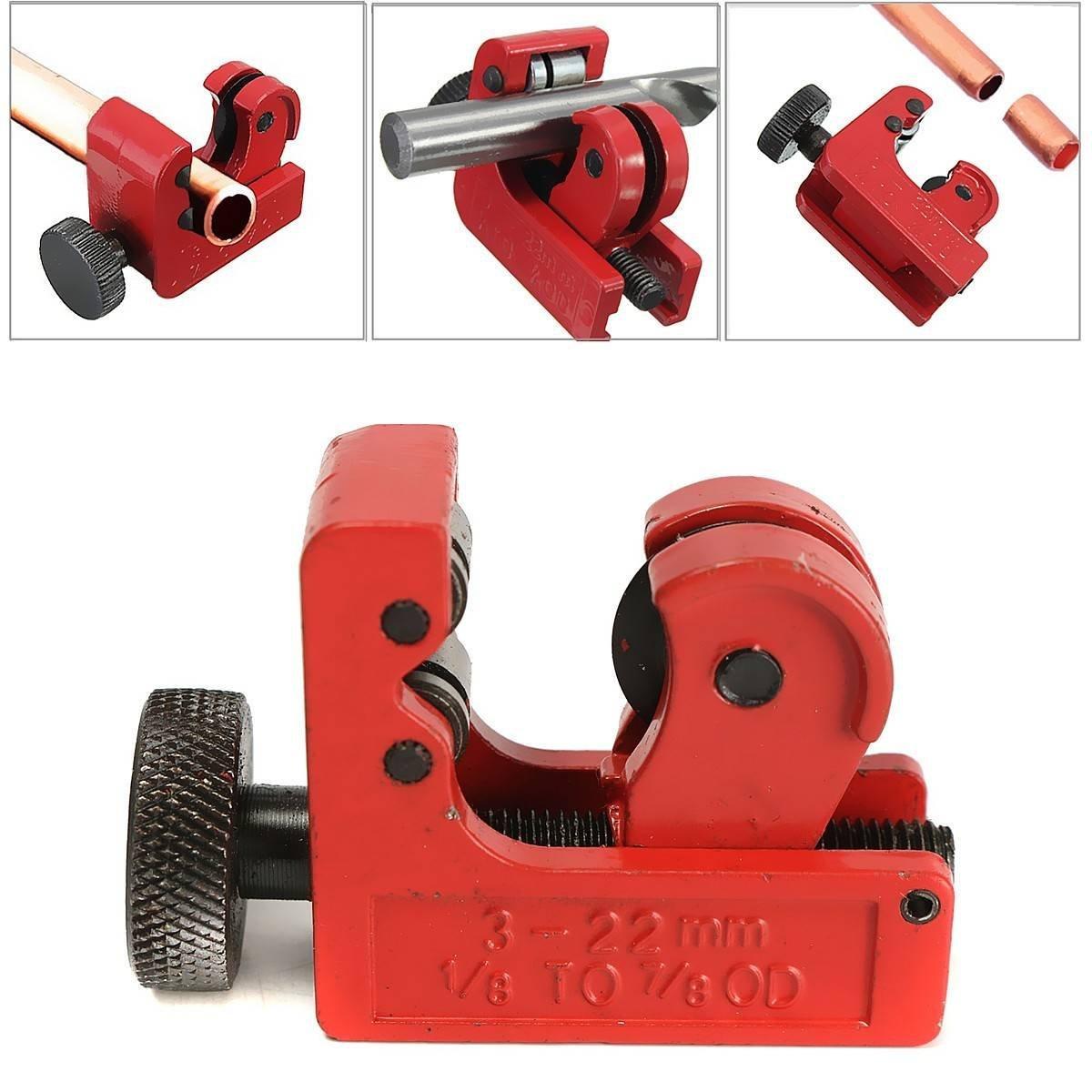 GOCHANGE Mini Tube Cutter 3-22mm 1/8inch-7/8inch OD
