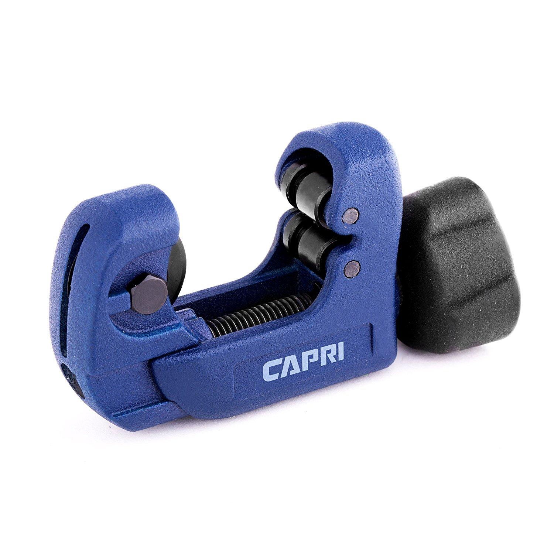 Capri Tools MiniKlinge Mini Tube Cutter, Blue